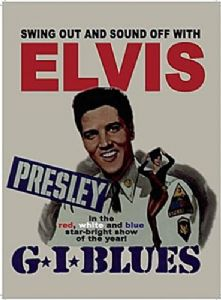 Elvis Presley G I Blues Large Metal Sign 400mm x 300mm (og)